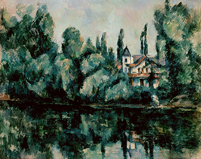 Banks of the Marne Paul Cezanne