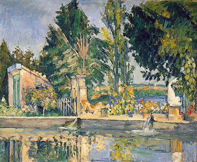 Jas de Bouffan, the Pool Paul Cezanne