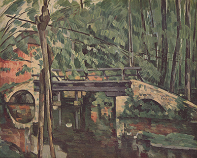 Maincy Bridge Paul Cezanne