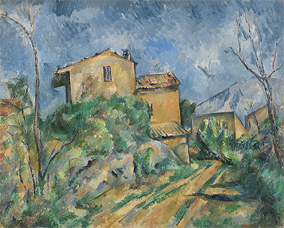 Maison Maria with a View of Chateau-Noir Paul Cezanne