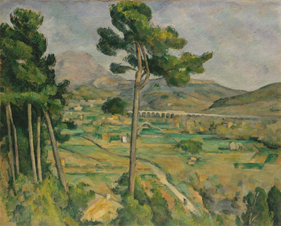 Mont Sainte-Victoire and the Viaduct of the Arc River Valley Paul Cezanne