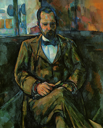 Portrait of Ambroise Vollard Paul Cezanne