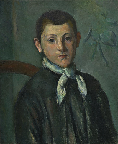 Portrait of Louis Guillaume Paul Cezanne