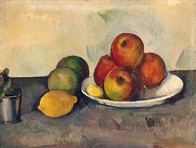Still Life with Apples Paul Cezanne