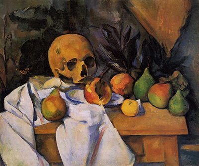Still Life with Skull Paul Cezanne