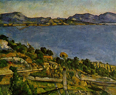 The Bay of Marseille seen from L'Estaque Paul Cezanne