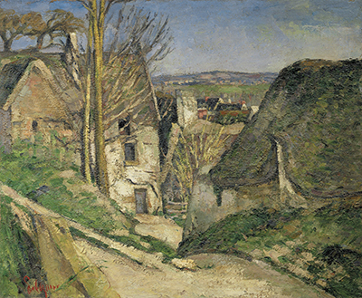 The Hanged Man's House in Auvers Paul Cezanne