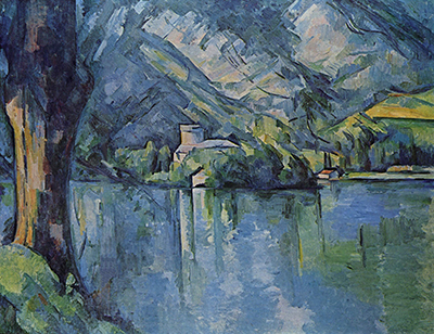 The Lac d'Annecy Paul Cezanne