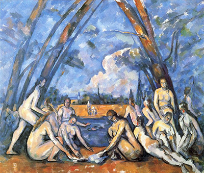 The Large Bathers Paul Cezanne