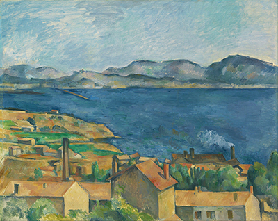 The Sea at l'Estaque Paul Cezanne